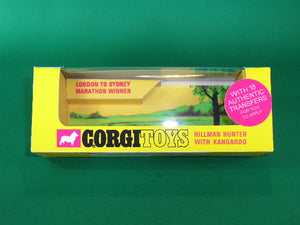 Corgi Toys #302 Hillman Hunter with Kangaroo -'Golden Jacks'.