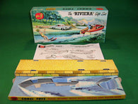 Corgi Toys. Gift Set. #31A The Riviera Set - Buick + Boat + Trailer etc.