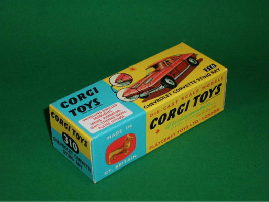 Corgi Toys #310 Chevrolet Corvette Stingray.