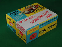 Load image into Gallery viewer, Corgi Toys #322 Rover 2000 in Monte - Carlo Trim.