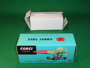 Corgi Toys #350 Thunderbird Guided Missile (on trailer).