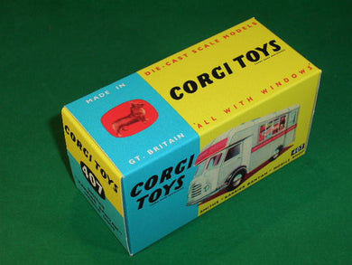 Corgi Toys #407 Smith's Karrier Bantam Mobile Shop.