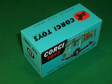 Corgi Toys #413 Smith's Karrier Bantam Butchers Shop.