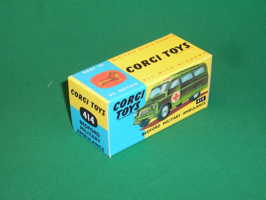 Corgi Toys #414 Bedford Military Ambulance.