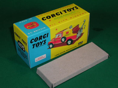 Corgi Toys #417S Land Rover Breakdown Truck (with suspension).