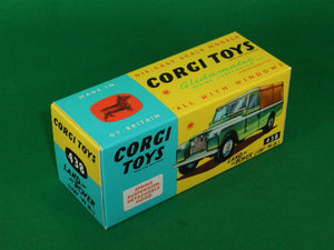 "Corgi Toys #438 Land Rover ( 109"" Wheel Base )."