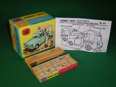 Corgi Toys #447 Wall's Ice Cream Van (Non Musical).