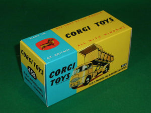 Corgi Toys #458 E.R.F. Model 64G. Earth Dumper.
