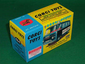 Corgi Toys #464 Commer Police Van with flashing light.