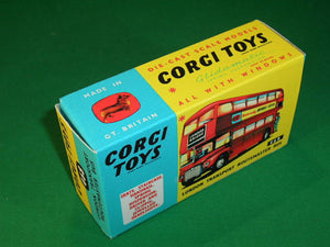 Corgi Toys #468 London Transport Routemaster Bus.