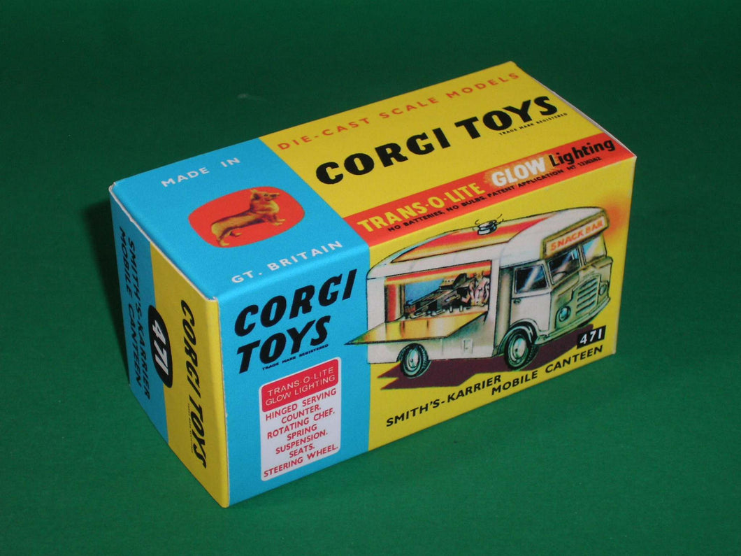Corgi Toys #471 Smith's Karrier Mobile Canteen (Joe's Diner).