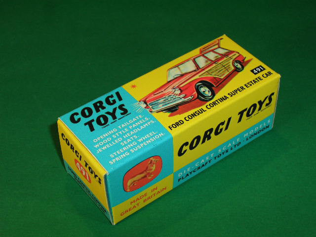 Corgi Toys #491 Ford Consul Cortina Super Estate Car.