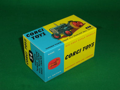 Corgi Toys # 54 Fordson Power Major with Half Tracks.
