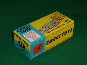 Corgi Toys # 56 Four Furrow Plough.