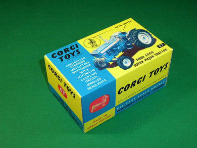 Corgi Toys # 67 Ford 5000 Super Major Tractor.