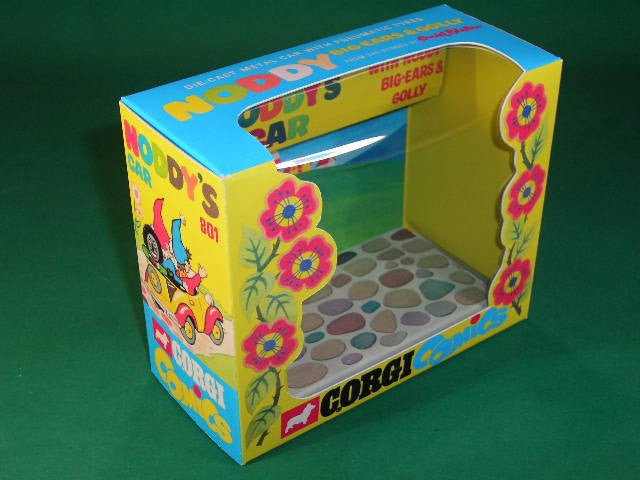 Corgi Toys #801 Noddy's Car with Noddy, Big Ears & Golly.