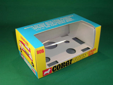 Corgi #925 Batcopter Reproduction Box by DRRB