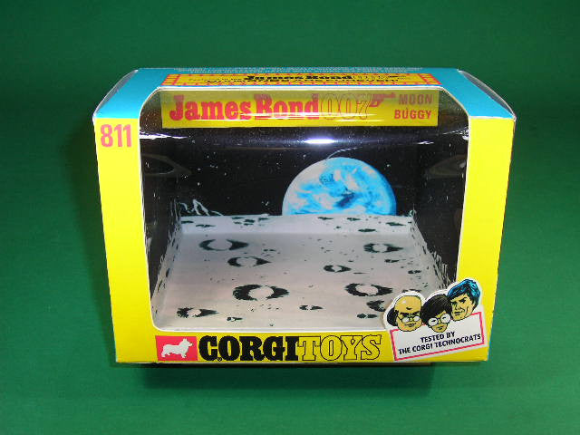 Corgi Toys #811 James Bond Moon Buggy.