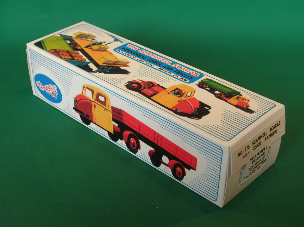Crescent Toys #1276 Scammell Scarab Tanker (Esso)