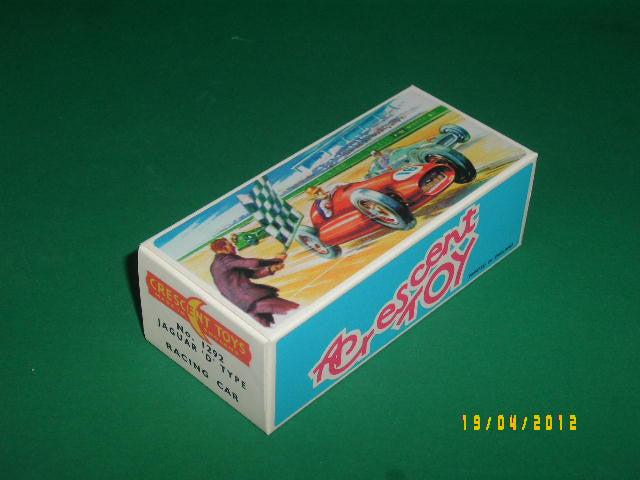 Crescent Toys #1292 Jaguar 'D' Type - Racing Car.