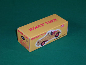 Dinky Toys #102 MG Midget (touring finish).