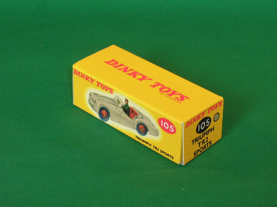 Dinky Toys #105 Triumph TR2 Sports (touring finish).