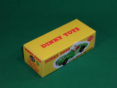 Dinky Toys #110 Aston Martin DB3S (competition finish).