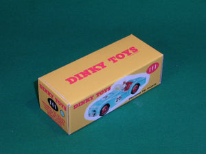 Dinky Toys #111 Triumph TR2 Sports (competition finish).