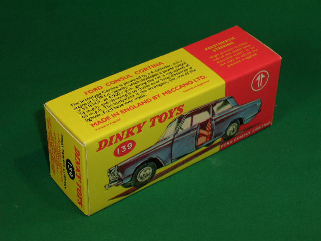 Dinky Toys #139 Ford Consul Cortina.