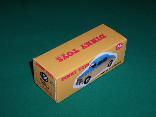 Dinky Toys #156 (#140b) Rover 75 Saloon.