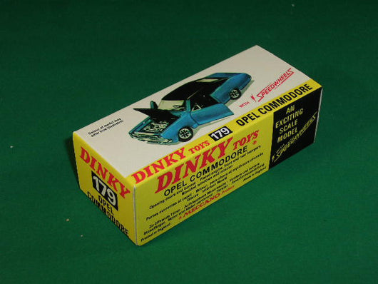 Dinky Toys #179 Opel Commodore.