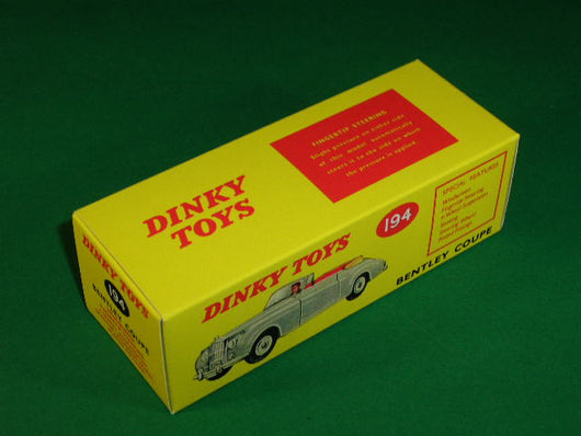 Dinky Toys #194 Bentley Coupe (S Series).