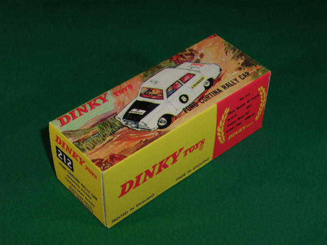 Dinky Toys #212 Ford Cortina Rally Car.