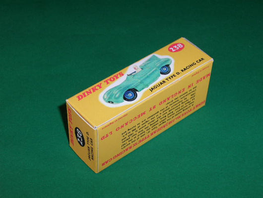 Dinky Toys #238 Jaguar D Type Racing Car.