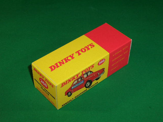 Dinky Toys #268 Renault Dauphine Minicab.