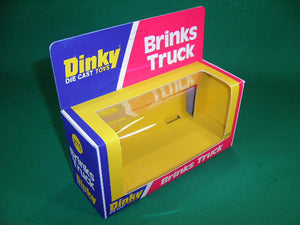 Dinky Toys #275 Brinks Truck - U.S.A. issue in grey/white/blue finish.
