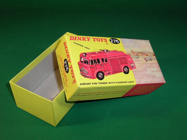 Dinky Toys #276 Airport Fire Tender With Flashing Light.