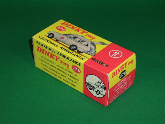 Dinky Toys #278 Vauxhall Victor Ambulance.