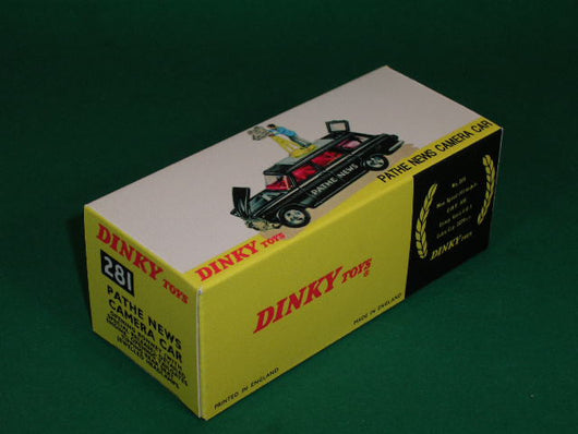 Dinky Toys #281 Pathe News Camera Car.