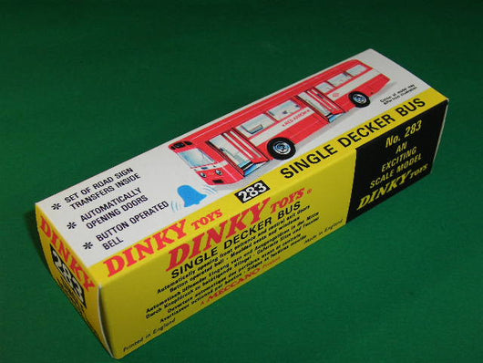 Dinky Toys #283 Single Decker Bus (Red Arrow).