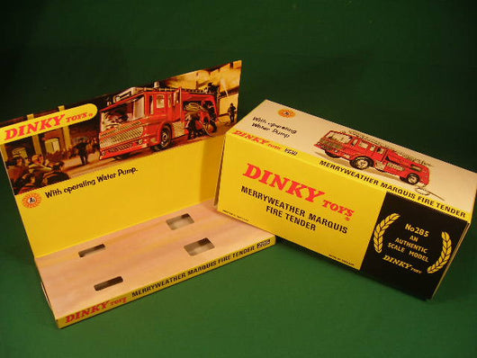 Dinky Toys #285 Merryweather Marquis Fire Tender (early).