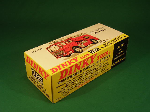Dinky Toys #285 Merryweather Marquis Fire Tender (later).
