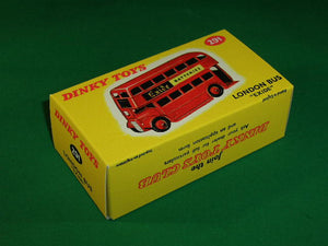 Dinky Toys #291 London Double Decker Bus 'Exide'.
