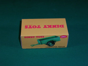 Dinky Toys #341 (# 27m) Land Rover Trailer.