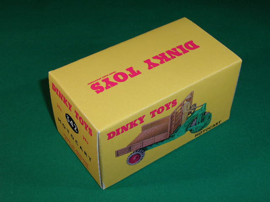 Dinky Toys #342 (# 27g) Moto-Cart.
