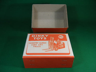 Dinky Toys #401 (#14c) Coventry Climax Fork Lift Truck.