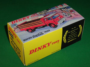 Dinky Toys #402 Bedford Coca-Cola Truck.