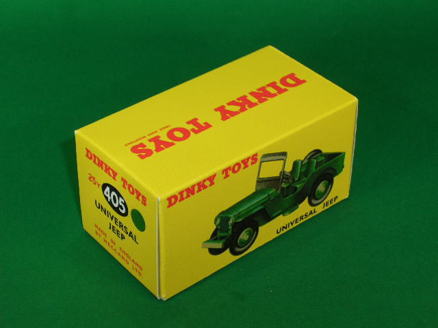 Dinky Toys #405 (# 25y) Universal Jeep.