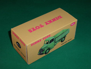 Reproduction Box by DRRB 14a Dinky #400 B.E.V Electric Truck