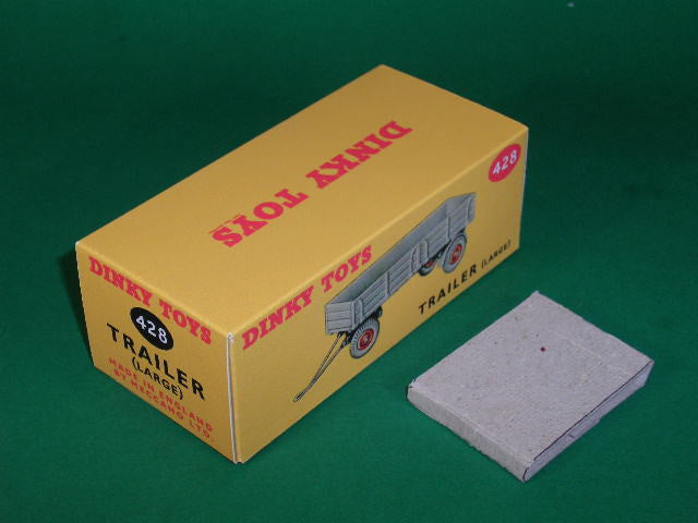 Dinky Toys #428 (#951, #551) Trailer (Large).